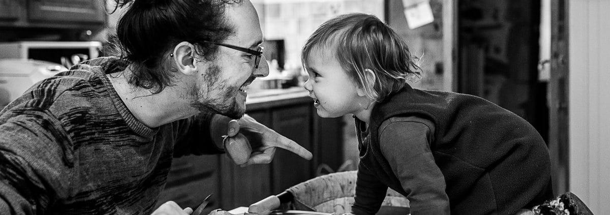 Reportage documentaire de famille en Rhône Alpes