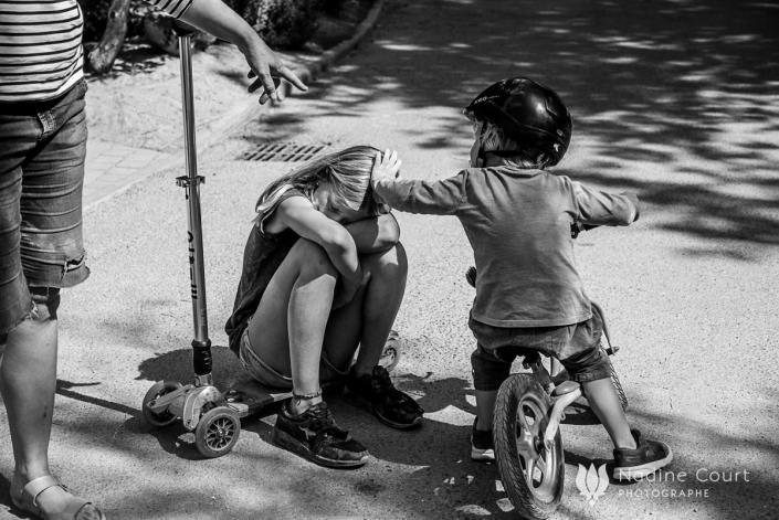 Reportage de famille en vacances - camping Béziers