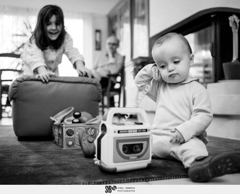 reportage de la vie de famille à Angers