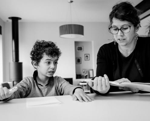 révision des lessons en famille à nantes